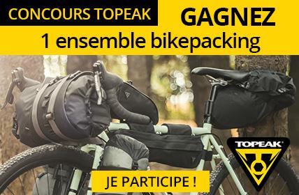 Gagnez un ensemble de 4 sacoches bikepacking Topeak