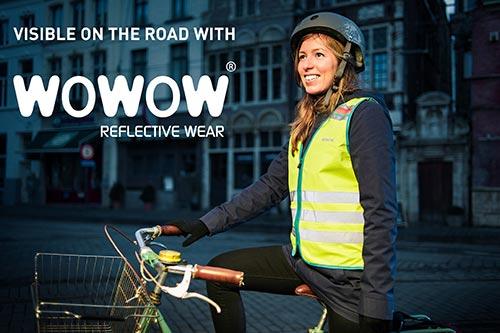 Wowow, la marque spécialisée en gilets réfléchissants pour cyclistes