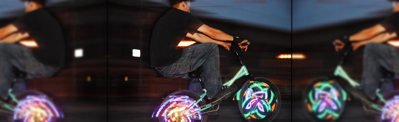 Le Monkey Light l'éclairage de roue révolutionnaire