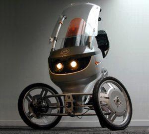 Le Mitka Trike, un design épuré et futuriste