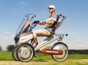 Un vélo électrique révolutionnaire et confortable
