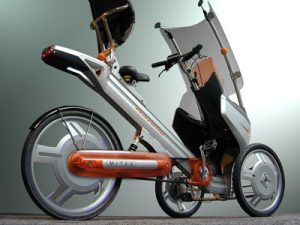 Mitka Trike, un véhicule hybrique de demain