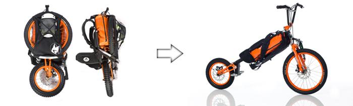 Un vélo pour les randonneurs