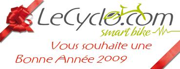 LeCyclo.com vous souhaite une bonne année.