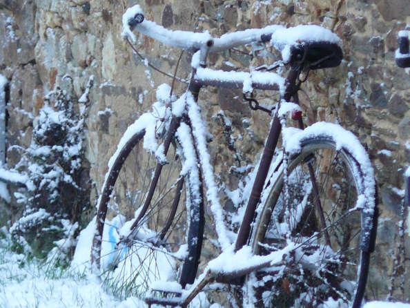 Lutter contre le froid en vélo