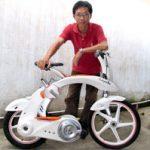 prototype vélo pliant