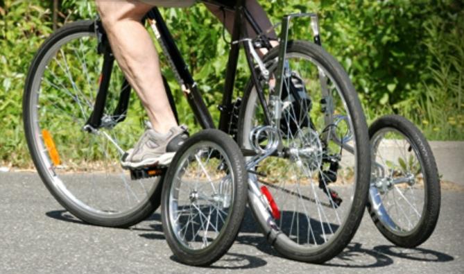 Roues stabilisatrices pour vélo adulte : EZ Trainer Senior