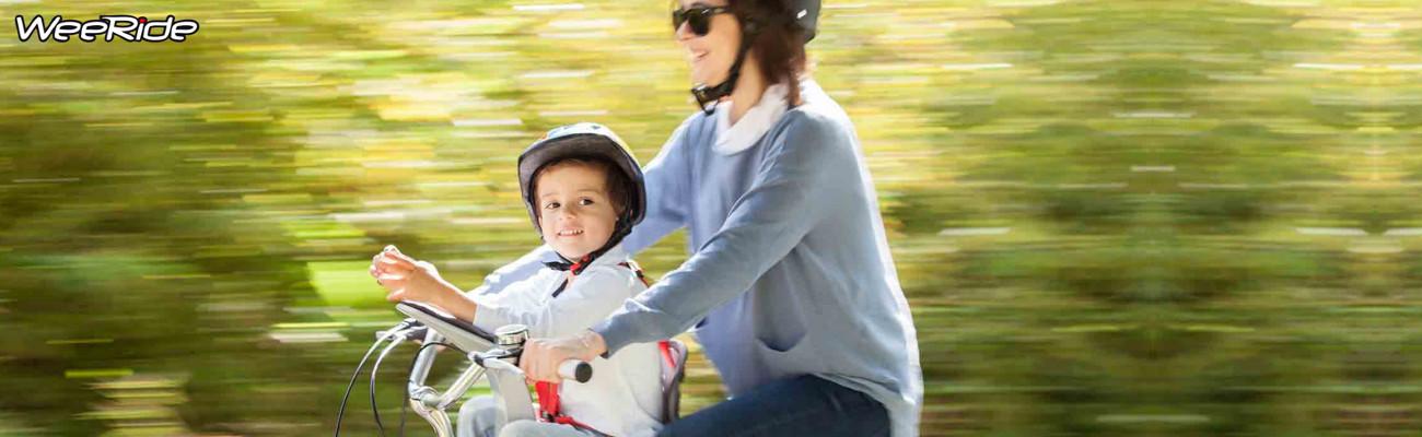 Siège vélo enfant : Weeride K ou Weeride K Luxe ?