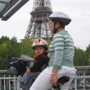 Siège pour bébé à vélo, Weeride à installer à l'avant