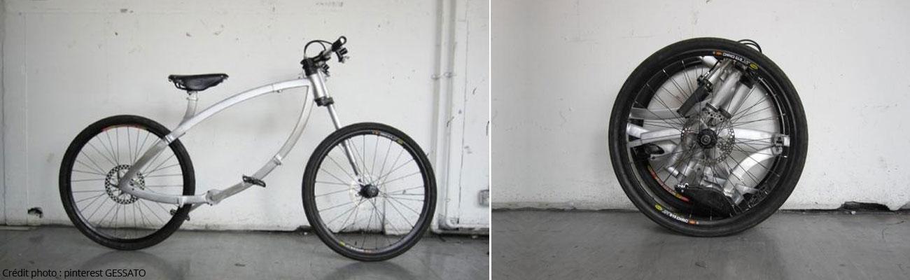 Contortionist : un vrai vélo vraiment pliant