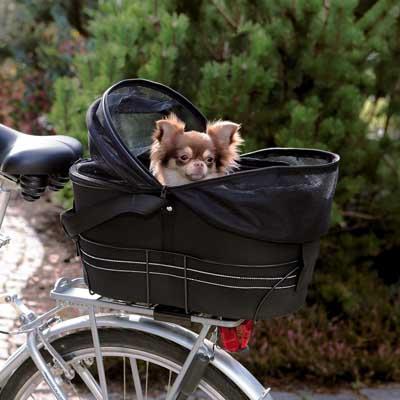 Panier vélo pour chien et petit animal