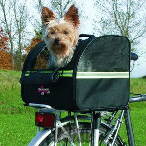 sacoche pour animaux à vélo