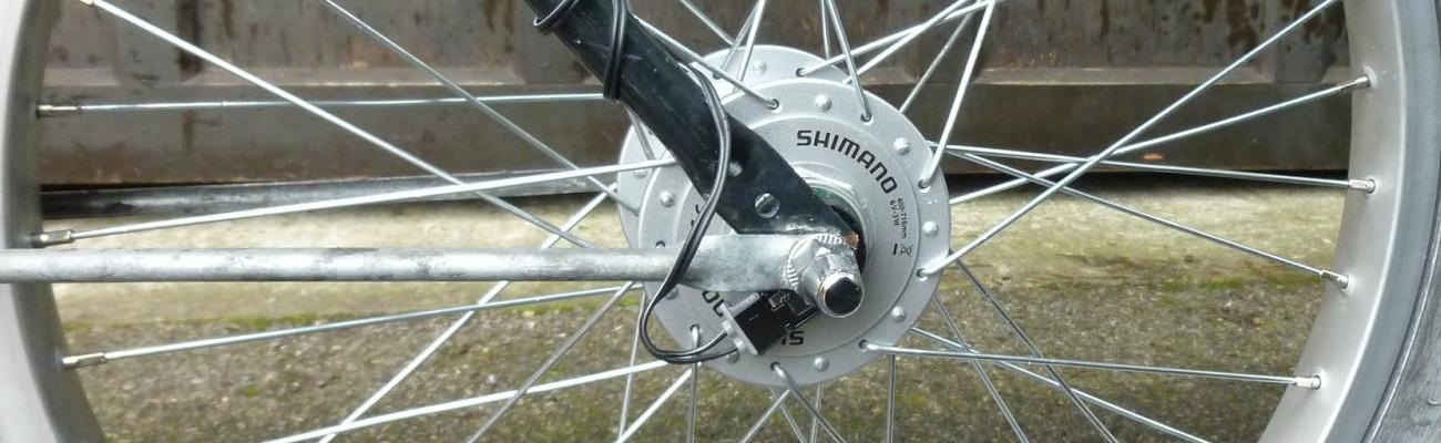 La dynamo et les éclairages vélo : explications et montage !