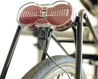 Éclairage dynamo de vélo Set halogène feu avant /& feu arrière garde-boue montage