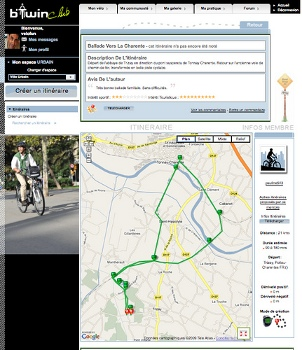 B'TwinMaps : la nouvelle application vélo pour iPhone 3GS !