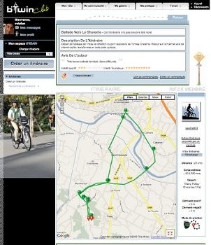 B'TwinMaps : la nouvelle application vélo pour iPhone 3GS !