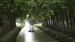 Canal du Midi en Occitanie