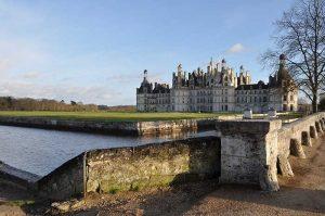 Le Château de Chambord sur la Loir à vélo