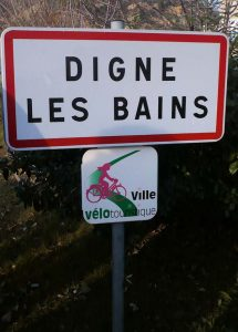 Digne les Bains, ville labélisée vélotouristique