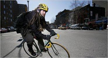 Messager à vélo