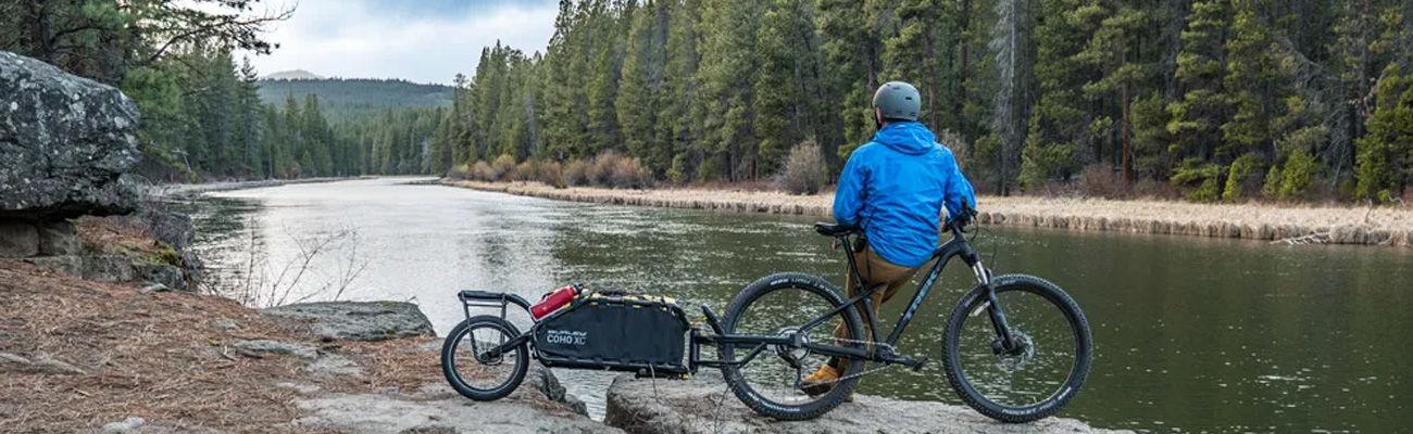 Les remorques vélo une roue idéales pour les cyclistes voyageurs !