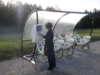 Le vélo à assistance électrique en libre-service pour les entreprises !