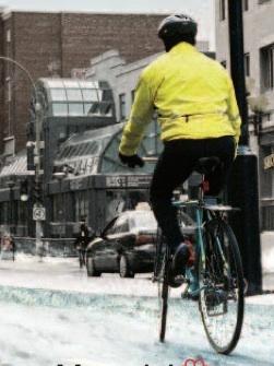 Même dans le froid jusqu'aux roues, le sport en hiver optimise votre forme !