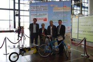 France – Japon en vélo électrique solaire !