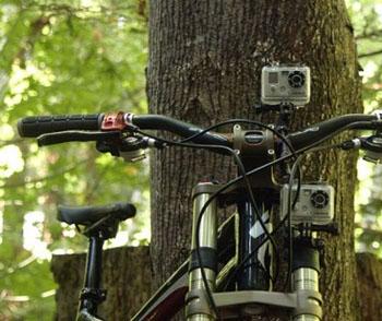 Caméra et support vélo, des accessoires pour les sportifs de l'extrême !