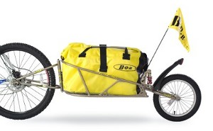 Remorque vélo une roue bob ibex