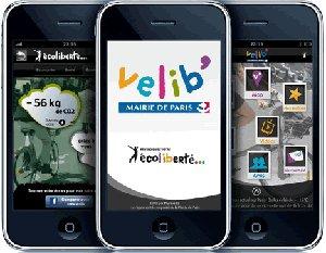 La mairie de Paris lance une application officielle Velib' pour iPhone !