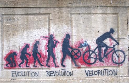 de l'évolution à la vélorution
