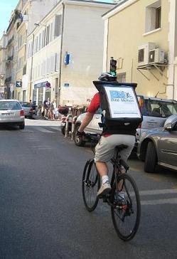 Un coursier à vélo pour Marseille !
