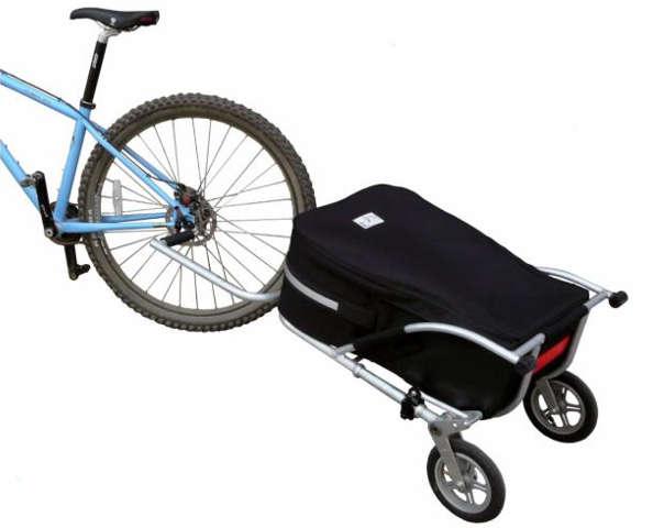 T1 : une remorque vélo et une valise unique pour voyager partout !
