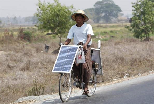 Les équipements à énergie solaire pour vélo !