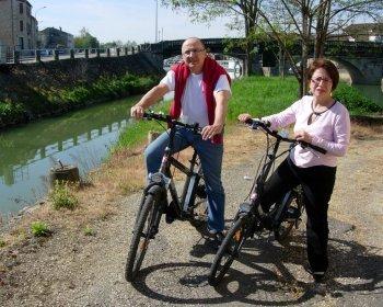 Le bonheur est dans le Gers avec la randonnée à vélo électrique !