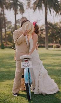 Tout faire à vélo : se marier et déménager !