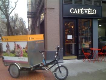 le vélo café