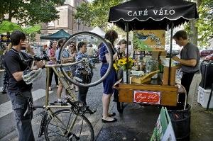 vélo café à portland aux usa