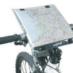 porte carte sur guidon vélo doomap