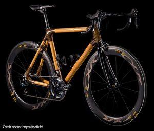 Vélo en bois bambou Cyclik