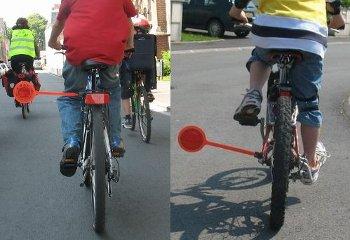 écarteur de danger à vélo