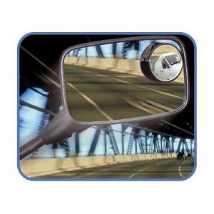 Pastille miroir convexe pour vélo