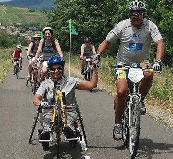 Handisport, pour faire du vélo malgré le handicap
