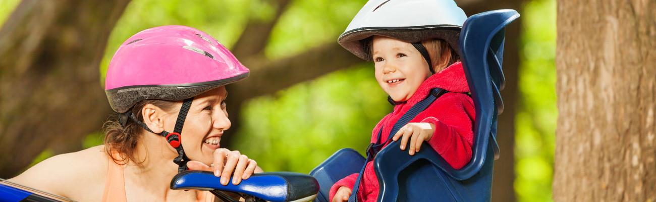 Remorque vélo, siège enfant: emmenez vos enfants en balade à vélo