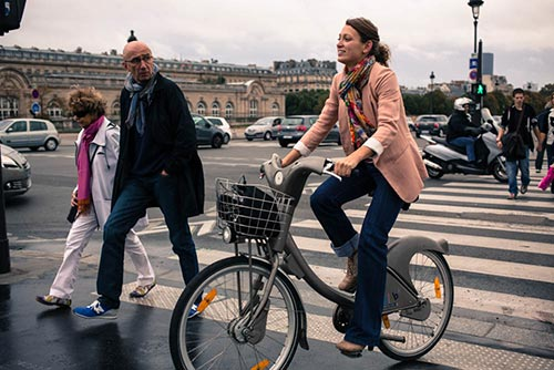 Le Vélib est une alternative à la grève des transports en commun