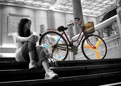Wheel Ad éclairage LED sur rayons de roue