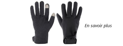 Gants chauffants pour cycliste Warmawear