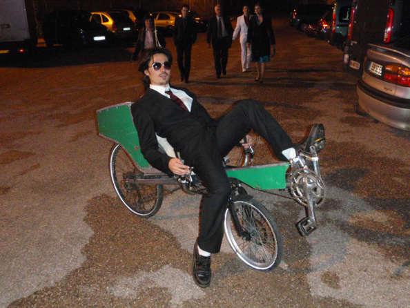 Yoann inconditionnel du vélo