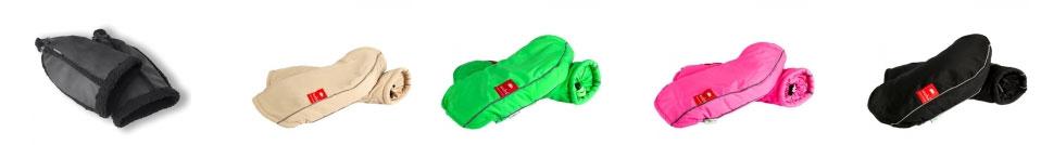 Des couvre-mains confortables pour cyclistes